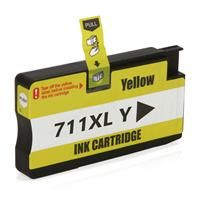 Cartucho de tinta HP 711XL | Designjet T120 T520 Amarelo Compatível 28ml
