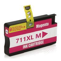 Cartucho de tinta HP 711XL  Designjet T120 T520 Magenta Compatível 28ml