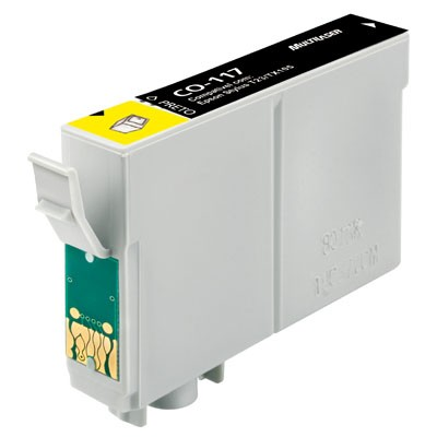CARTUCHO EPSON TO117 TO 117 PRETO COMPATIVEL STYLUS T23/T24/TX105/TX115.