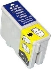 CARTUCHO EPSON TO13 TO 13 PRETO COMPATIVEL  STYLUS 480/580/C20/C40.