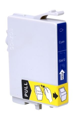 CARTUCHO EPSON TO472 TO 472 AZUL COMPATIVEL STYLUS C63/C65/C83/C85/3500/6300/CX4500.