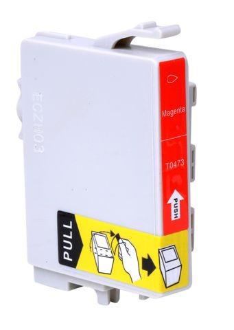 CARTUCHO EPSON TO473 TO 473 MAGENTA COMPATIVEL STYLUS C63/C65/C83/C85/3500/6300/CX4500