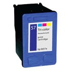 CARTUCHO HP 6657 57 COMPATIVEL  HP F4140/F4180/1110/1210/2110/2410/9680/9670/5550/5650/PHOTOSMART D7260/7550/7755