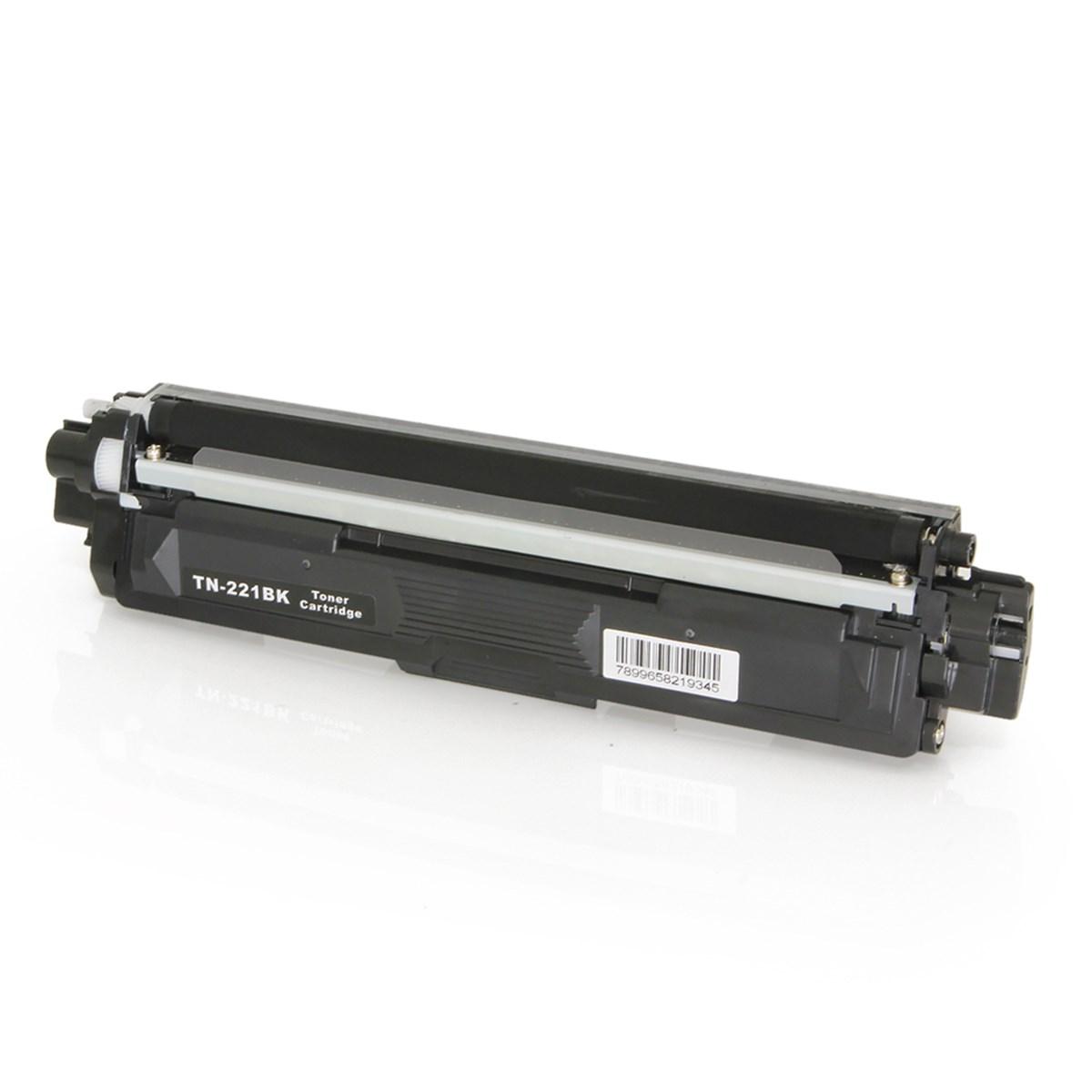 Toner Brother TN-221BK TN221 Preto | HL3140 HL3170 DCP9020 MFC9130 MFC9330 MFC9020 | Premium 2.5k