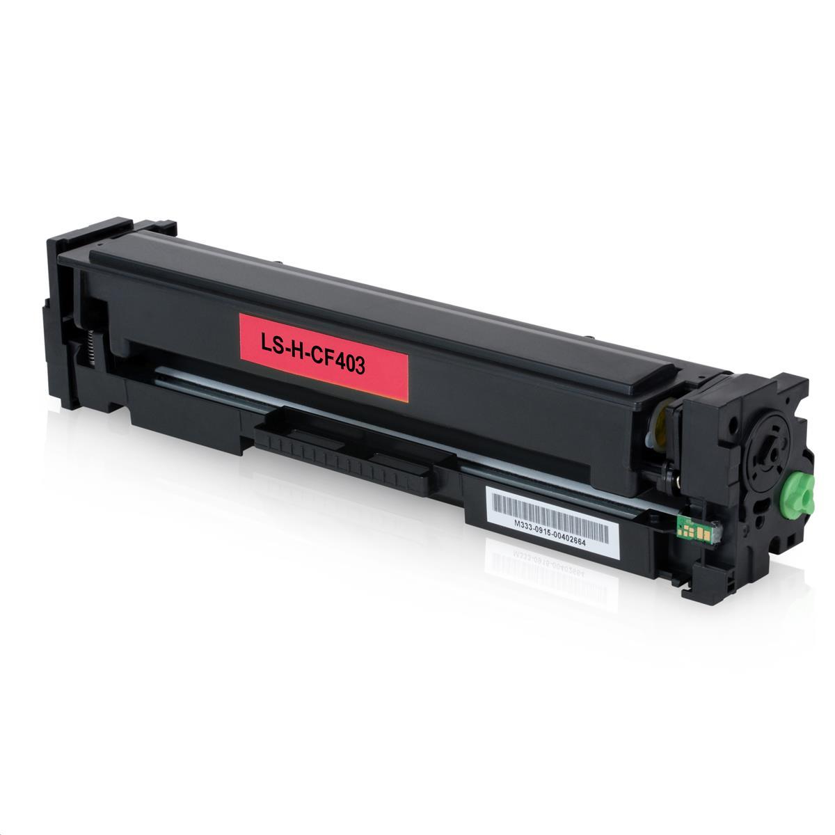 Toner HP CF403A Magenta 201A Compatível | M252DW M252 M277DW M277 | Importado