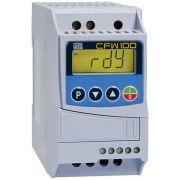 Kit Inversor Frequência CFW100 1CV + Módulo CFW100-IOA WEG