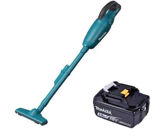 Aspirador de pó DCL180Z Makita + bateria 18V 3,0ah