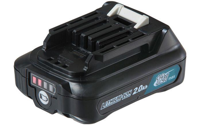 Bateria 2.0Ah 12V com indicador de carga Bl1021B Makita