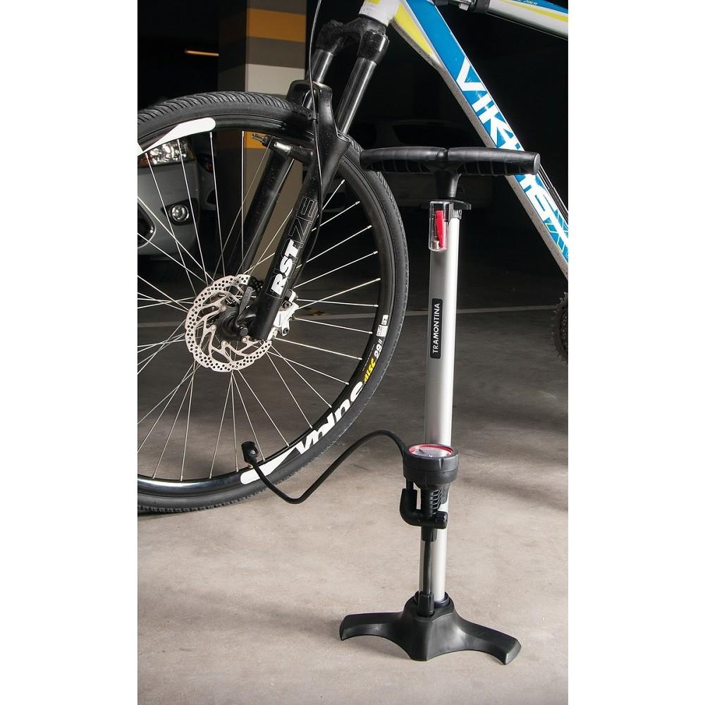 Bomba de Ar para Bicicleta, Bolas e Boias 11Bar Tramontina