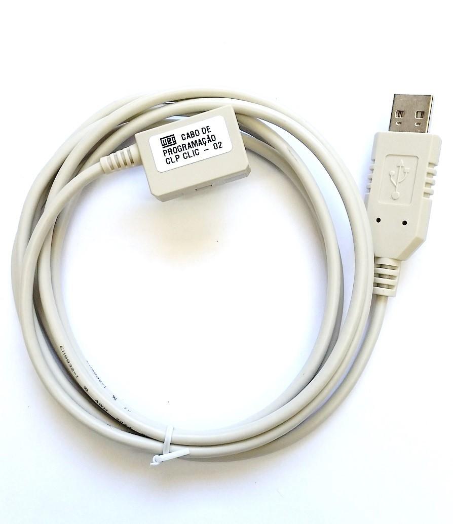 Cabo de Programação USB Clic02 CLW-02/ULINK WEG