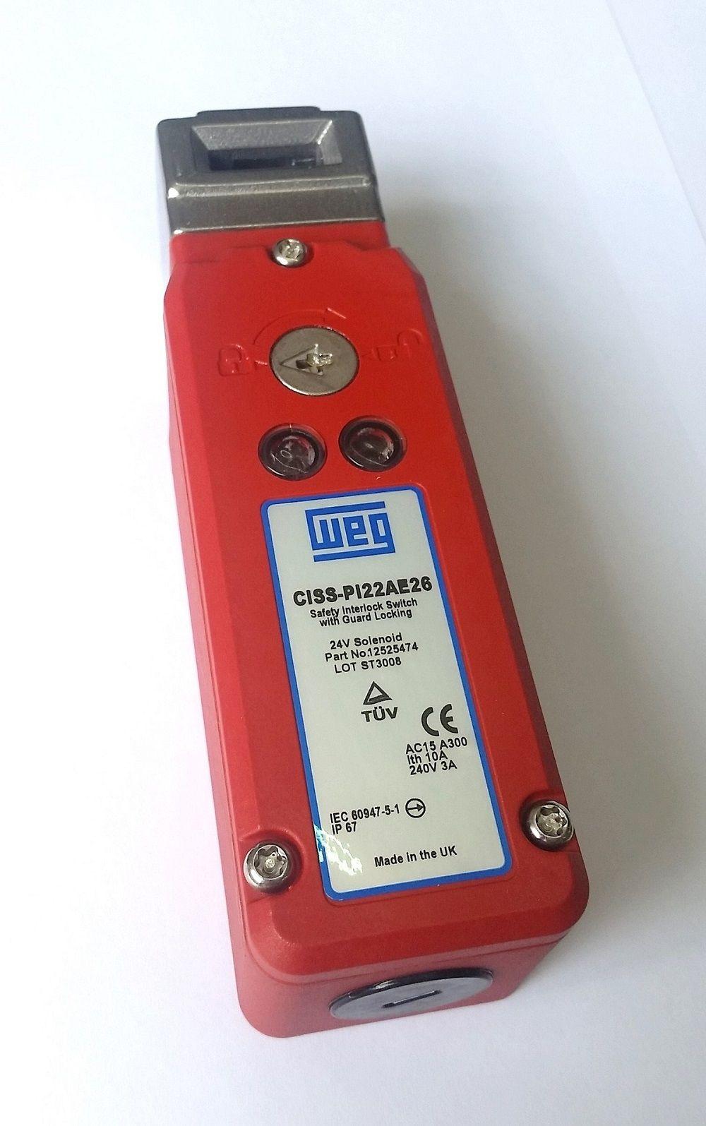 Chave de Intertravamento de Segurança CISS-PI22AE26 WEG