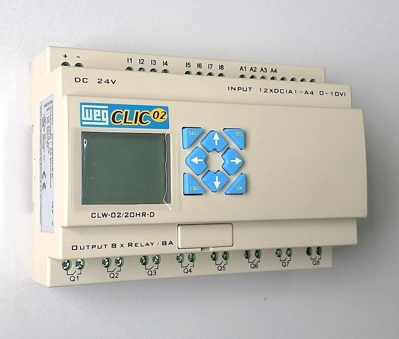 CLP CLIC02 24VCC CLW-02 20HR-D 3RD WEG