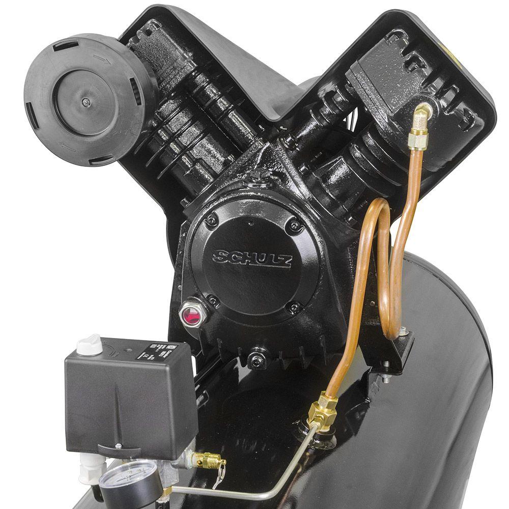 Compressor de Ar 20PCM/200L MCSV20 AP 5HP 220/380V - SCHULZ