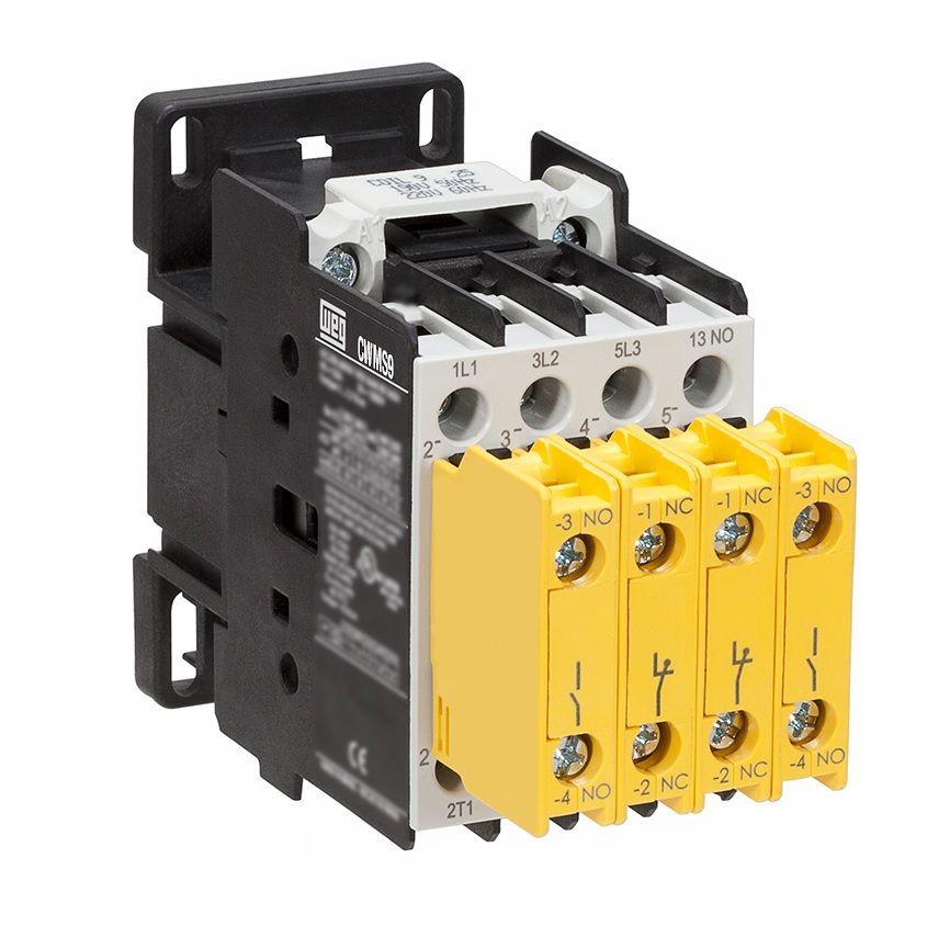 Contator 18A Segurança CWMS18-32-30D23 220V WEG
