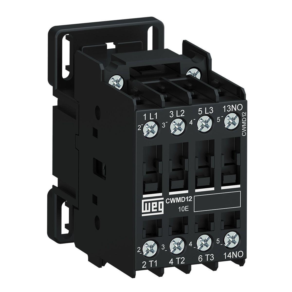Contator Tripolar 12A CWMD12-10-30 WEG