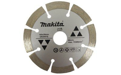 DISCO DIAMANTADO SEG P/ GRANITO 105X10X20MM D-44351 MAKITA