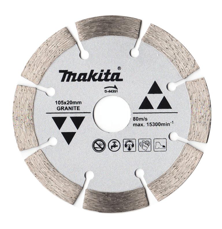 Disco Diamantado P/Granito 105X10X20MM D-44351 MAKITA