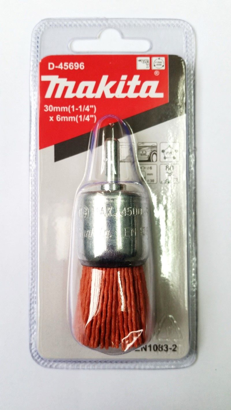 Escova Nylon Pincel Grossa 30X6 MM D-45696 - MAKITA