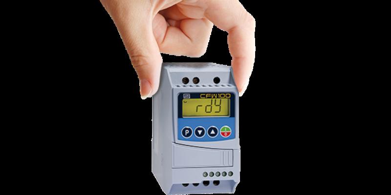 Inversor de Frequência Weg CFW100 220V 0,25CV