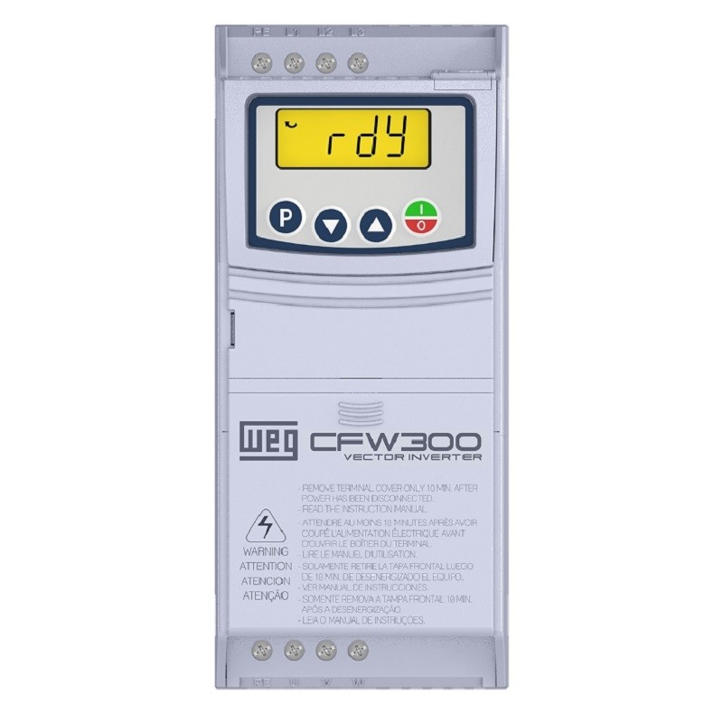 Inversor de Frequência CFW300 220V MONO/TRIF 3CV 10A WEG