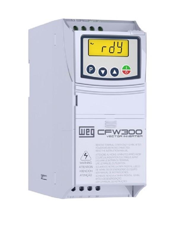 Inversor de Frequência CFW300 220V MONO/TRIF 0,5CV 2,6A WEG