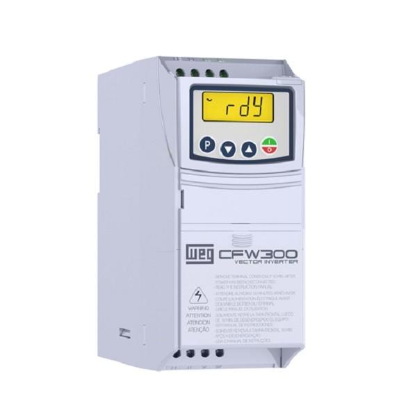 Inversor de Frequência CFW300 220V MONO/TRIF 1,5CV 6A WEG
