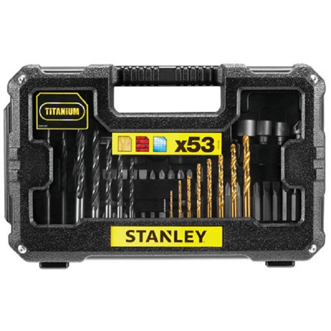 Kit de Brocas e Bits 53 Peças STA7223 Stanley