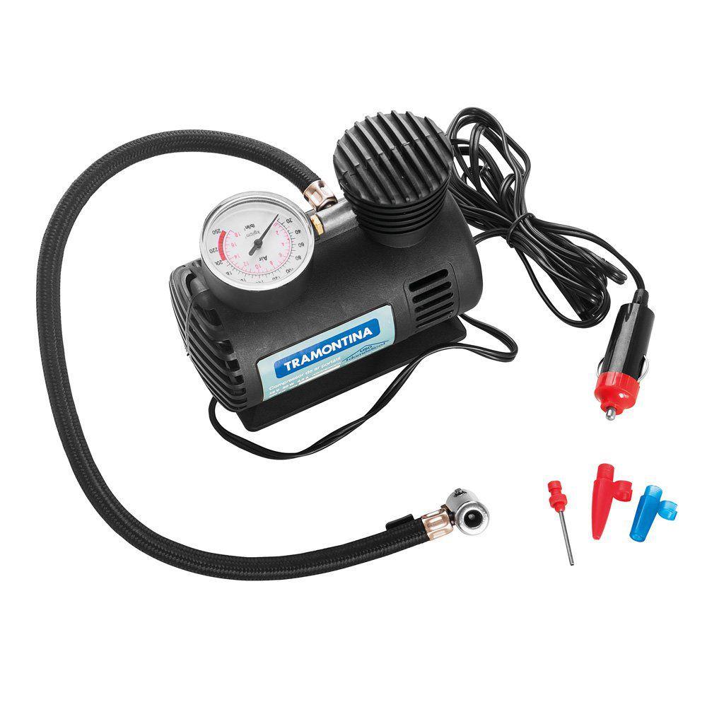Kit Aspirador automotivo + Compressor automotivo 12v