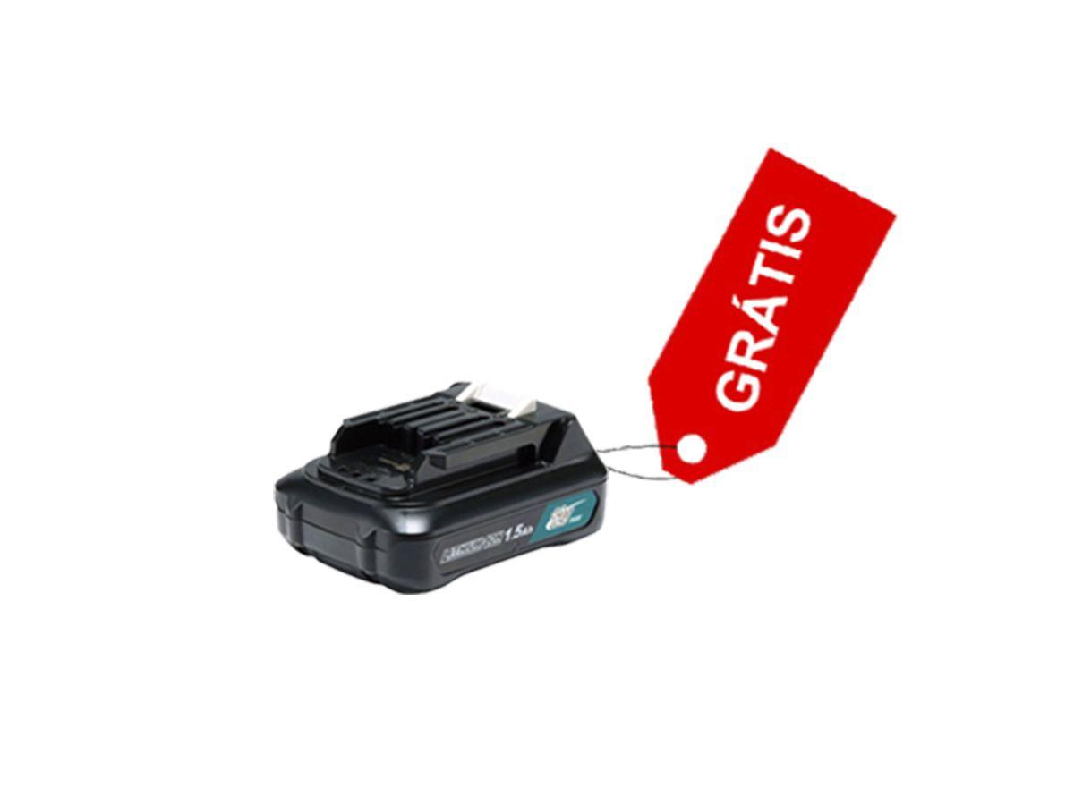 Kit Aspirador de pó à bateria + Carregador + Bateria grátis - Makita