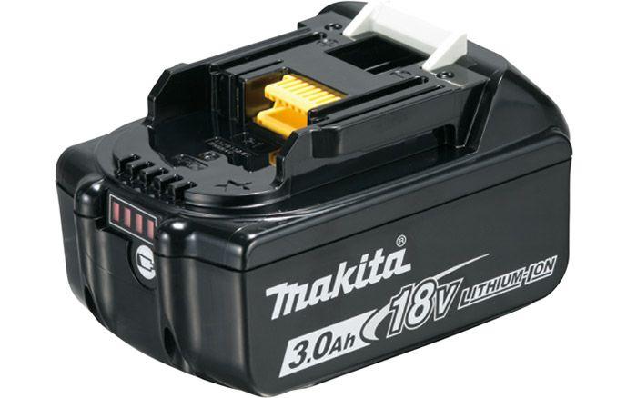 Kit Aspirador de pó + bateria 18V 3 Ah   + carregador Makita