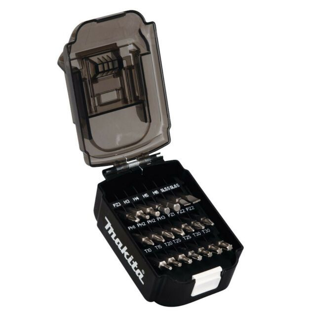 Kit Bits Em Estojo Bateria 21Peças B-68323 - MAKITA