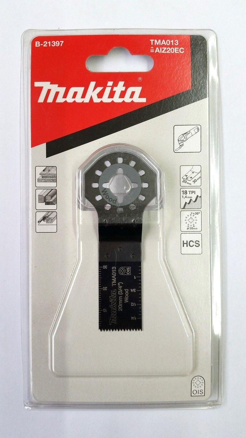 Lâmina para Corte de Imersão Madeira Flexível B-21397 Makita