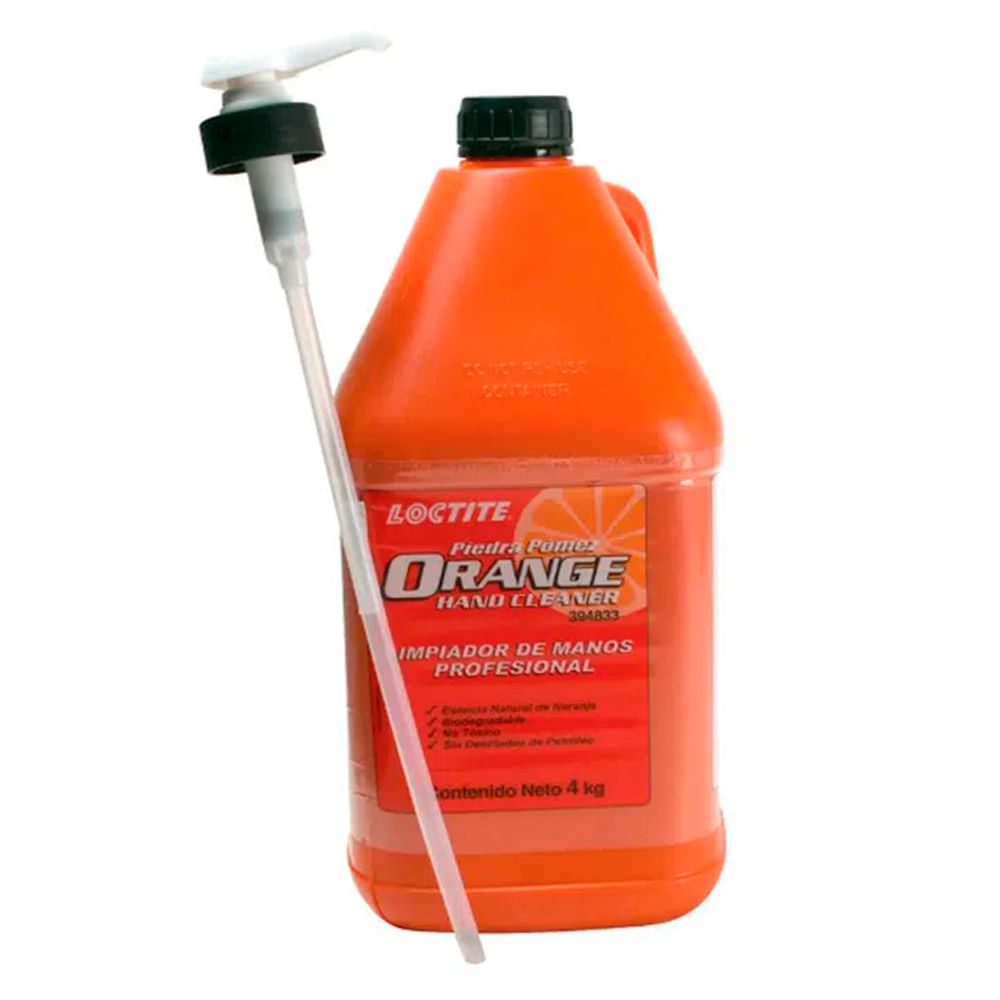 Limpa Mãos Loctite Orange Pedra Pomes 4KG - 394833