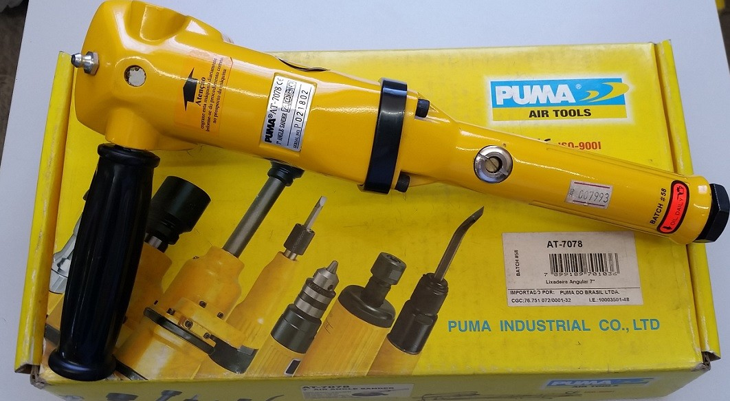 Lixadeira Pneumática 7¨AT-7078 Puma