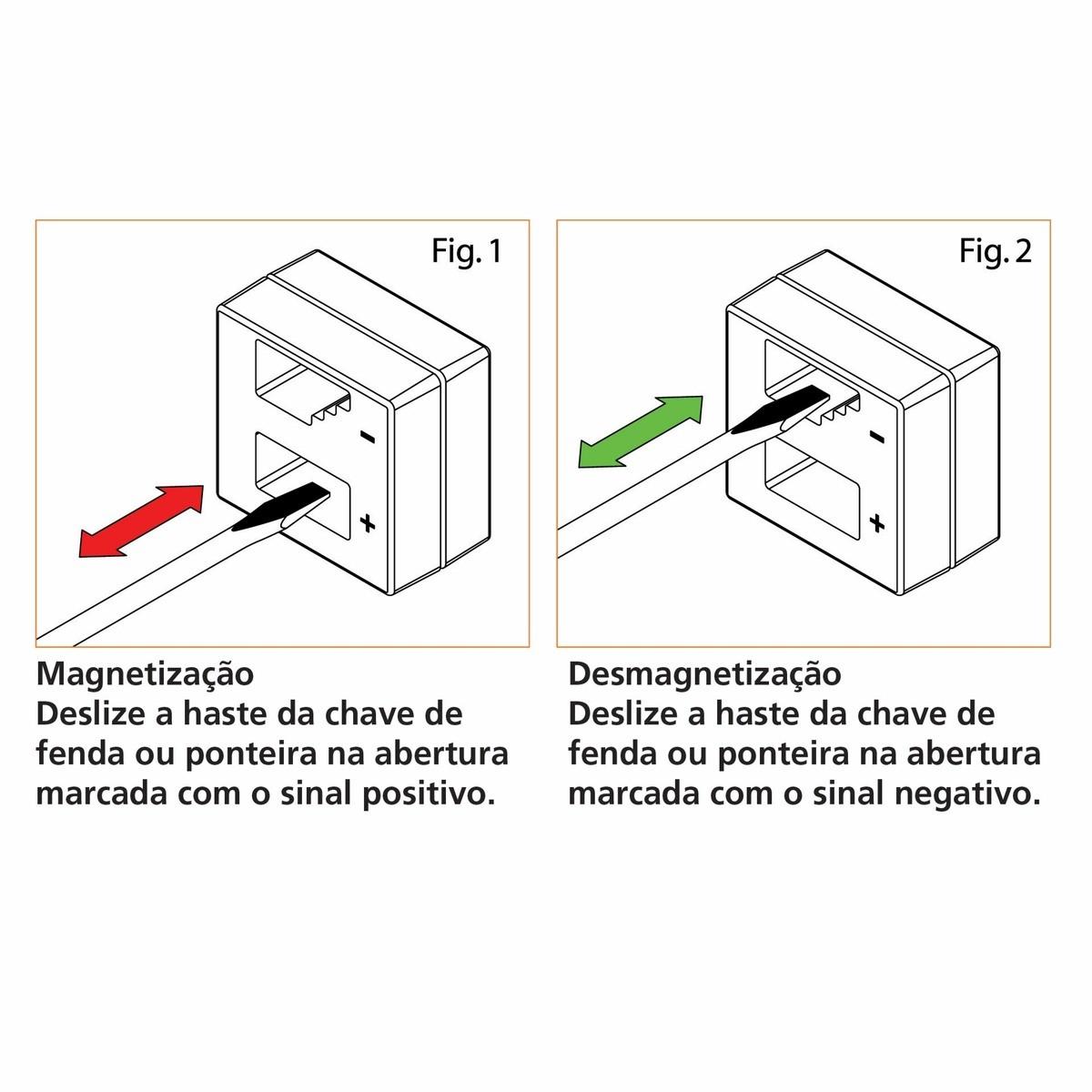 Magnetizador e Desmagnetizador de Chaves Tramontina PRO