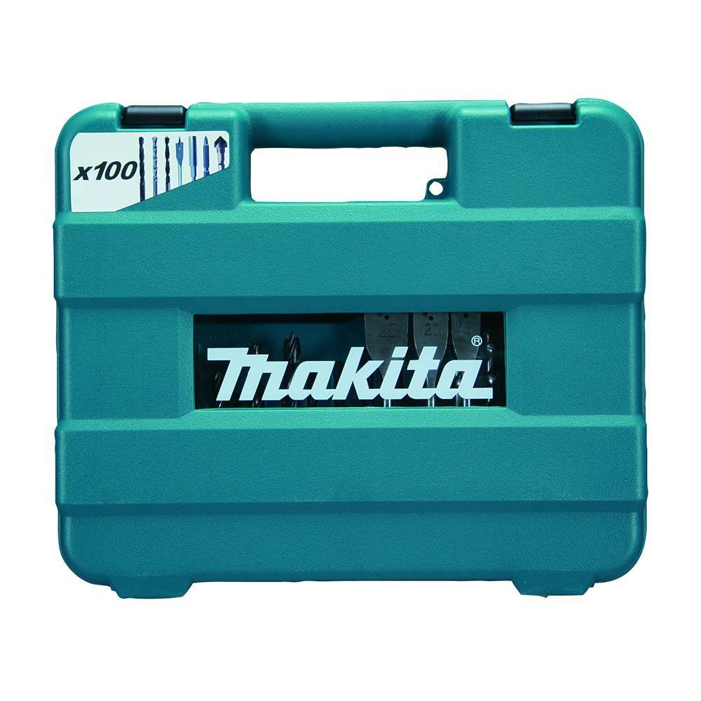 Maleta de acessórios c/ 100 peças D-47248 Makita