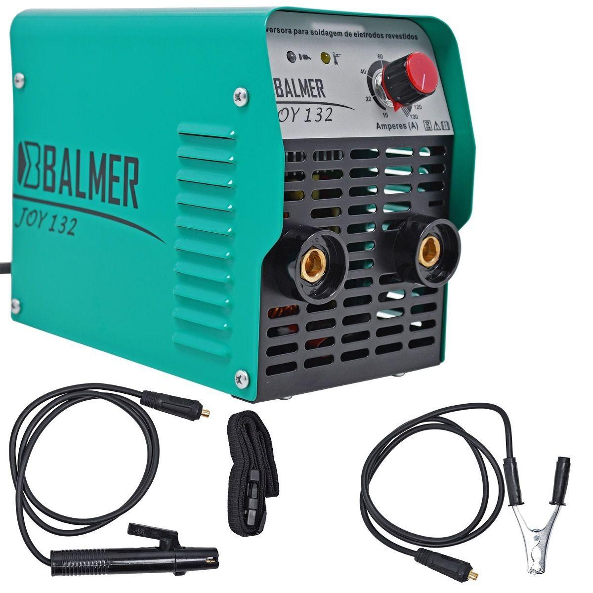 Aparelho Solda Eletrodo Inverter Joy 132 Mono Balmer