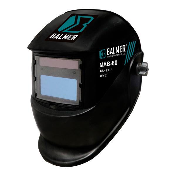 Máscara De Solda Auto Escurecimento MAB-80 - BALMER
