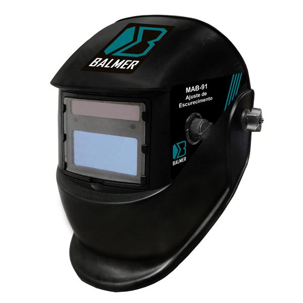 Máscara De Solda Auto Escurecimento MAB-91 - BALMER