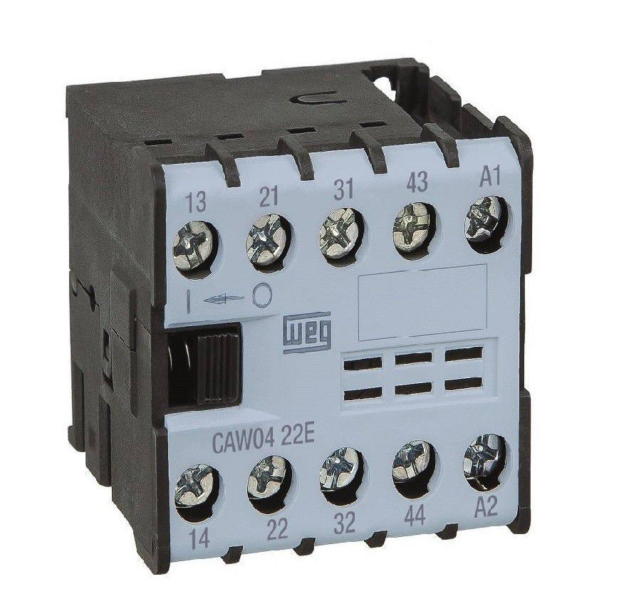 Minicontator Auxiliar  CAW04-31 24VCA 12896421 WEG