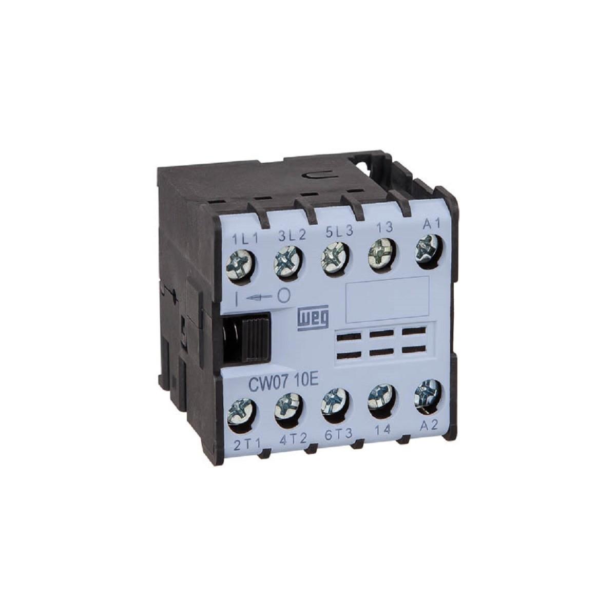 Minicontator Tripolar CW07 7A 1NA 24Vca WEG