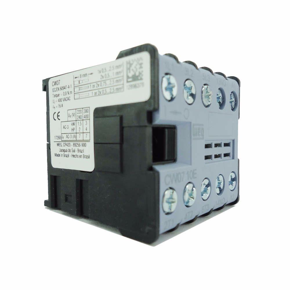 Minicontator CW07-10-30V25 220V 12896379 WEG