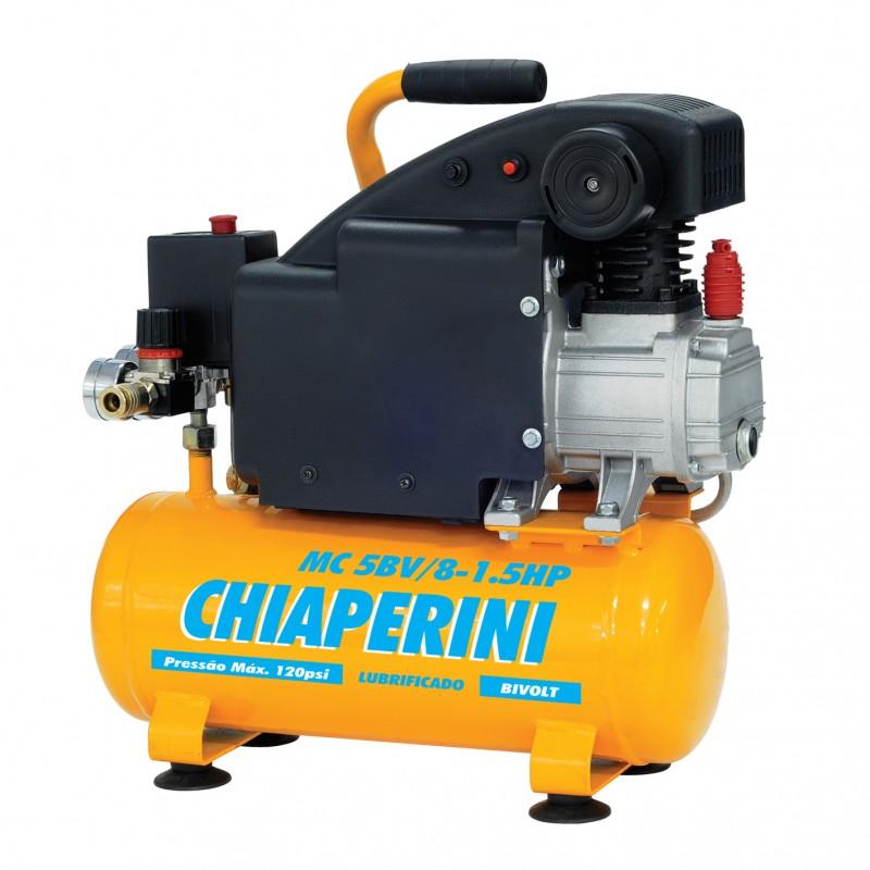 Motocompressor de ar MONO 1,5HP C/ KIT de acessórios Chiaperini