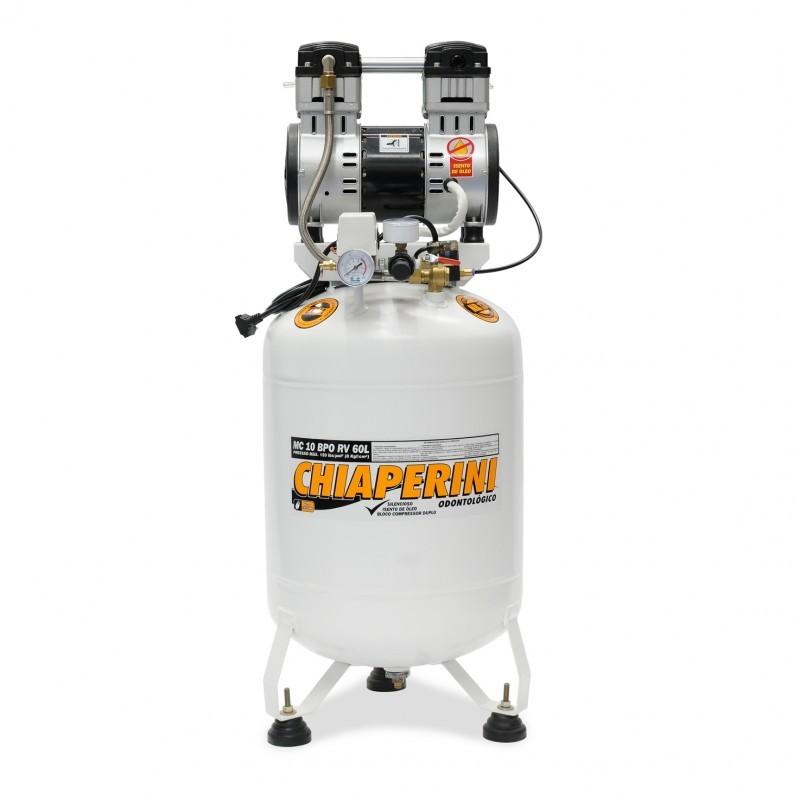 Motocompressor Odontológico 10 BPO 60L sem Óleo Chiaperini