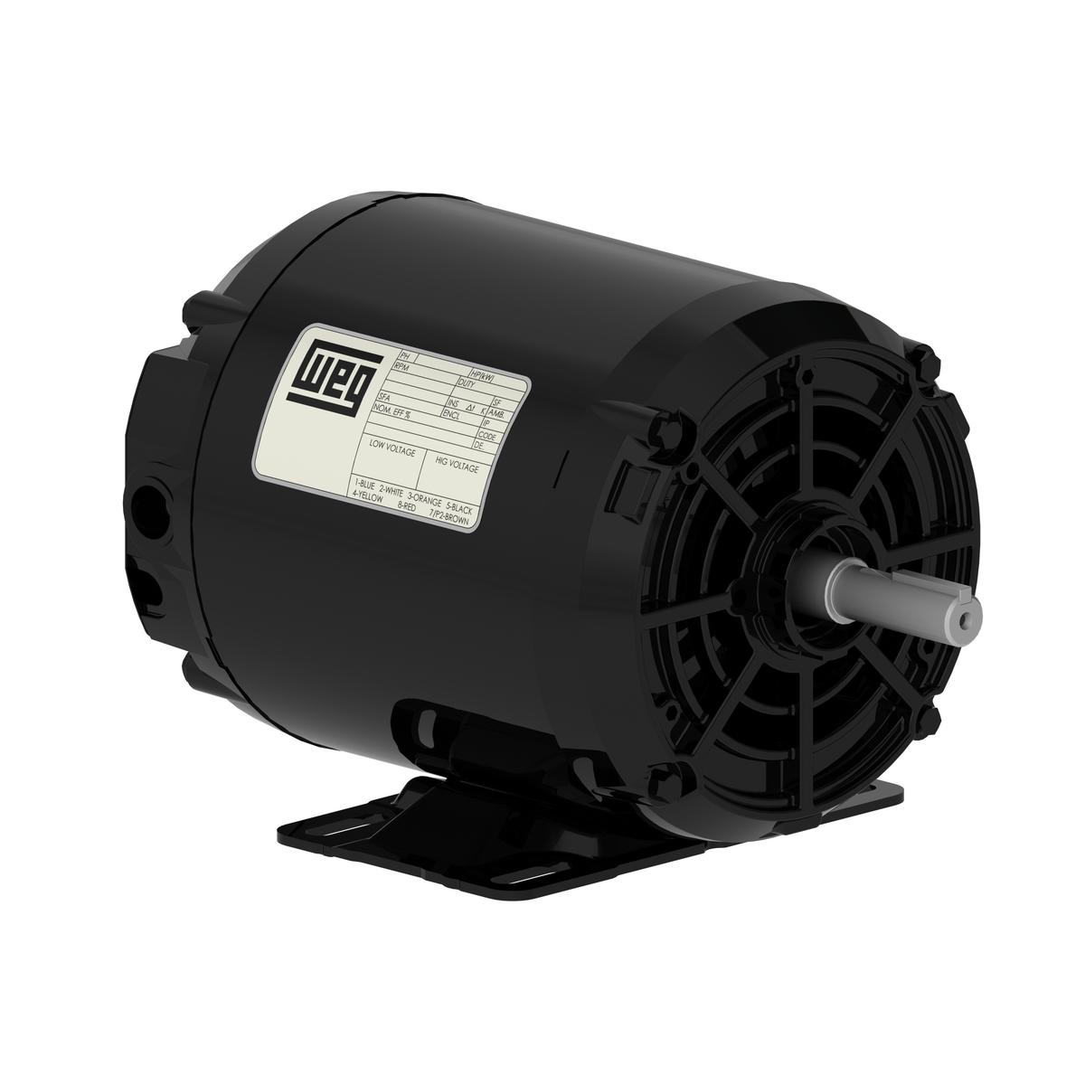 Motor Trifásico Aberto Alta Rotação 2cv 2P 220/380V WEG