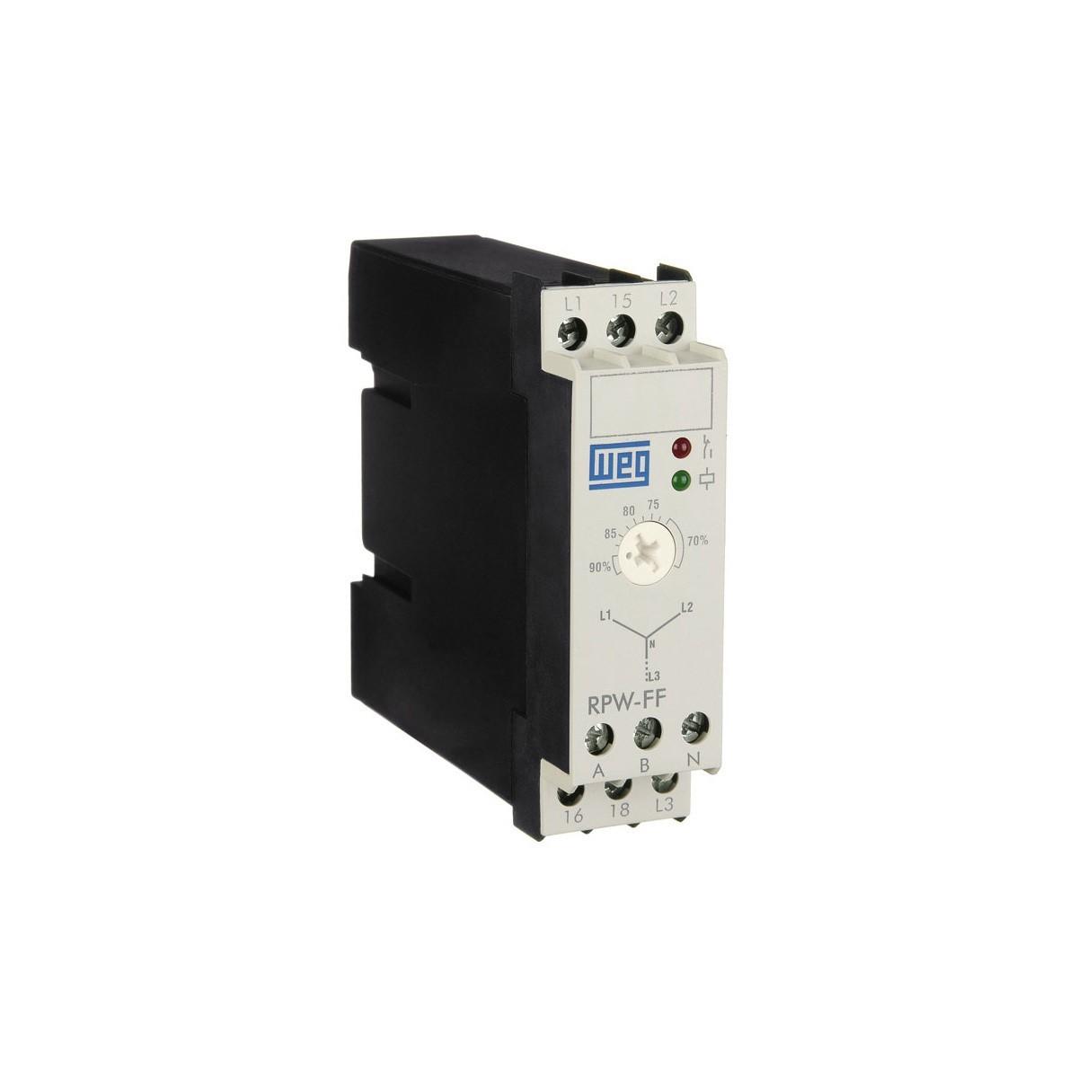 Relé de Proteção de Falta de Fase RPW-FF 380-415V WEG