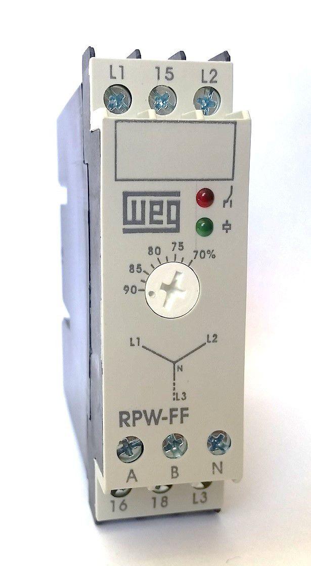Rele Proteção Falta de Fase RPW-FF 380-415V WEG