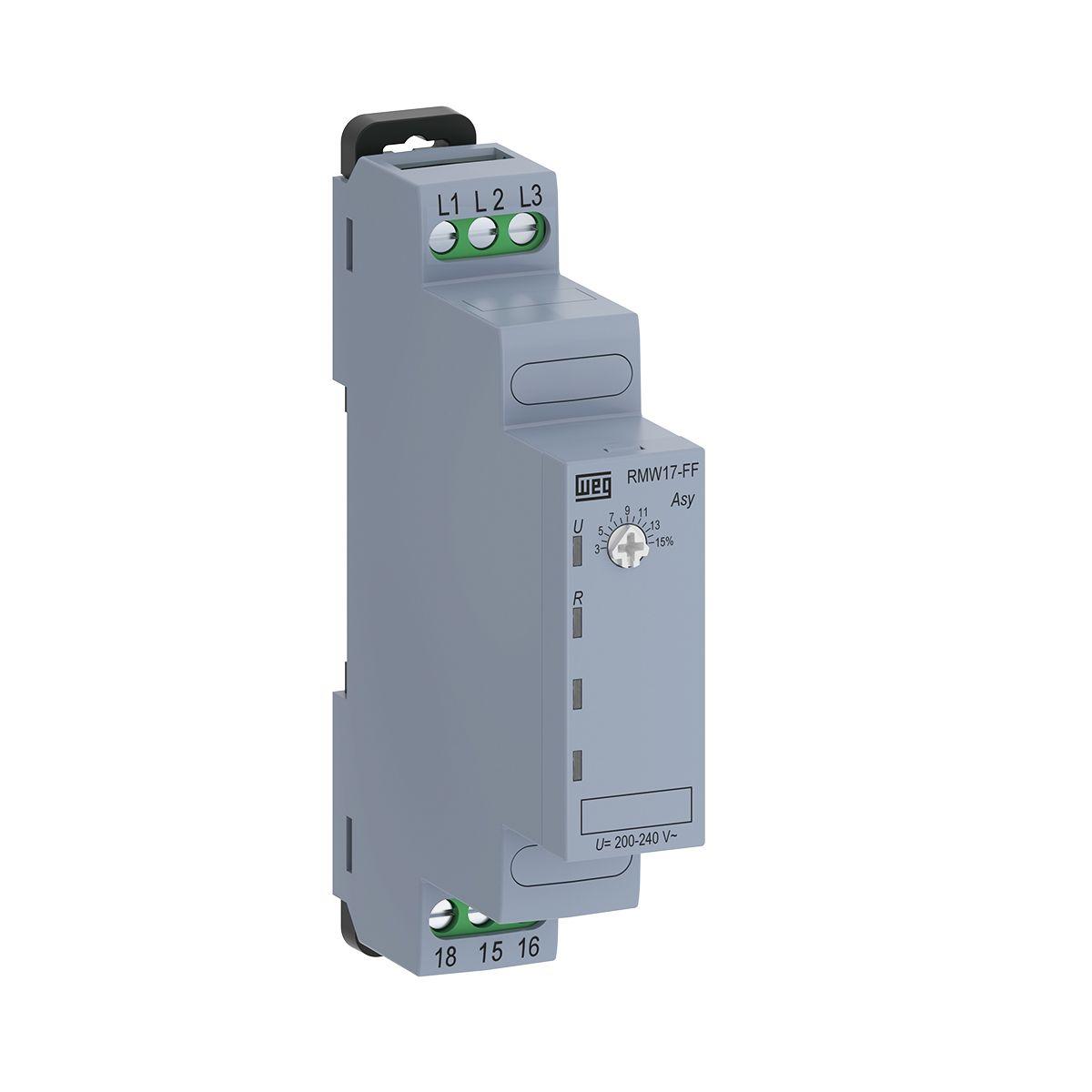 Relé de Proteção Falta de Fase 220V RMW17-FF WEG