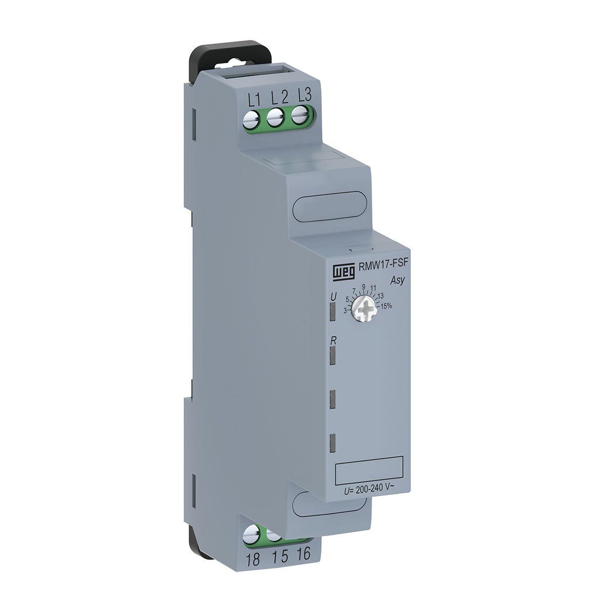 Relé de Proteção Falta/Sequência de Fase 220V RMW17-FSF WEG