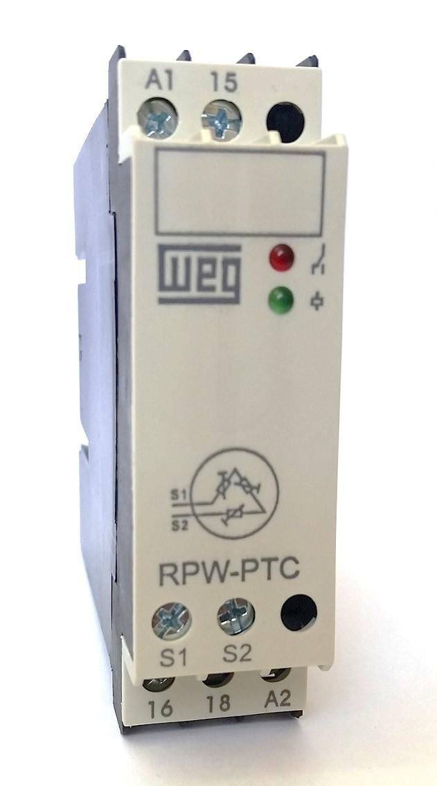 Relé de Proteção Monitoramento de Temperatura RPW-PTC WEG